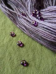 Malabrigo with Beads