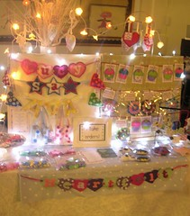 Heartfelt Stall 27 March 09 (heartfelthandmade) Tags: booth display handmade craft stall fair heartfelt crafttable