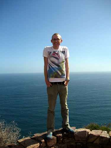 Andy at Chapmans Peak