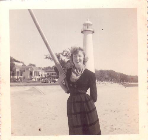 Biloxi, MS Light House 1952