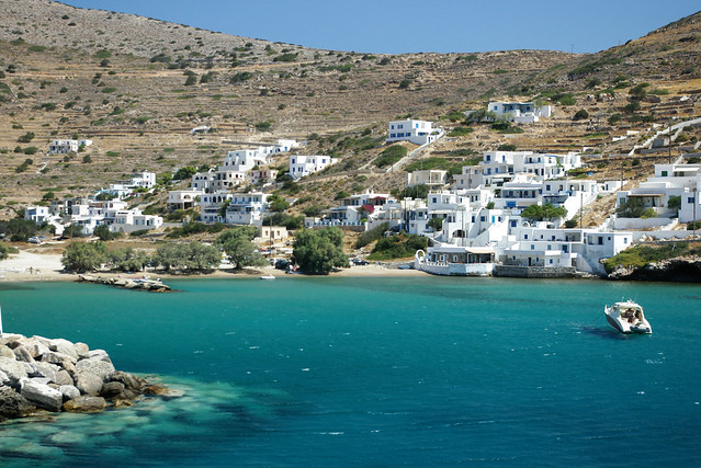 Port and Beach of Sikinos