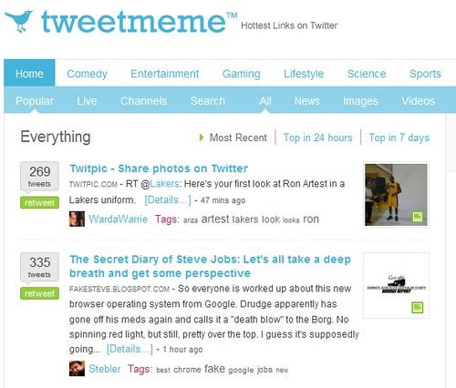 Tweetmeme