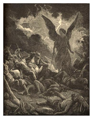 016-Destruccion de Senaquerib-Gustave Doré