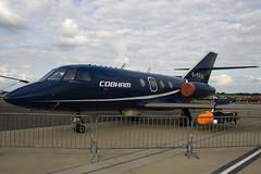 G-FRAK - Cobham - Dassault Falcon 20DC Mystere - 090704 - Waddington - Steven Gray - IMG_0011