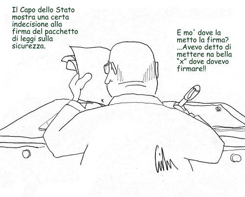 Napolitano indugia