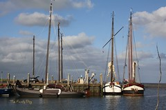 off to sea once more (The Family Dog) Tags: sea boats ship harbour ameland lowtide
