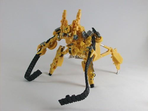 Transformers Rampage RotF - modo robot