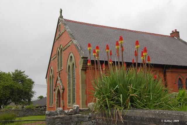 Church in Llandegla, Wales