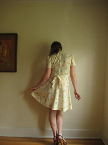 cornflower dress!