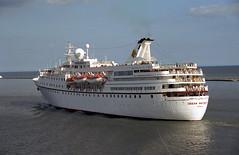 Page & Moy: OCEAN MAJESTY Port of Dublin (emdjt42) Tags: cruiseship oceanmajesty portofdublin
