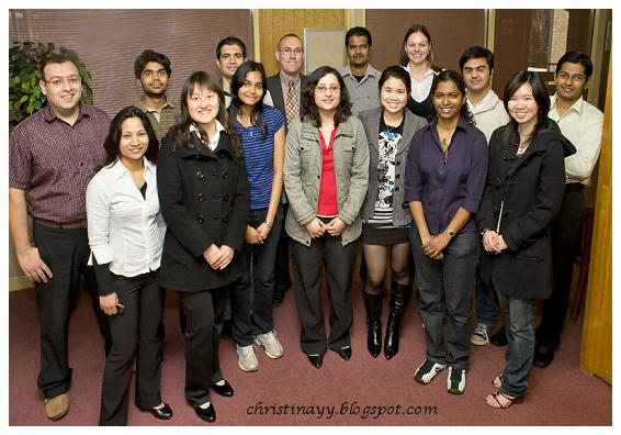 USQ Mentors 2009 & International Officers