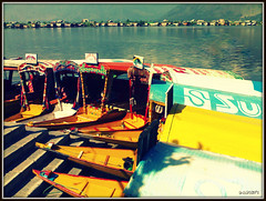 Waiting for passengers! (D a r s h i) Tags: india lake boats boat stand steps passengers passenger kashmir pune himalayas houseboats jammu shikara dallake shrinagar darshi sriagar pcatransportation