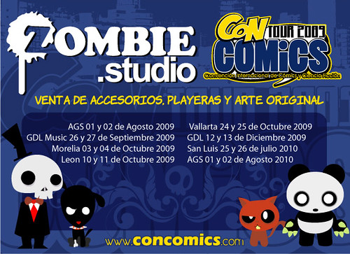 zombiestudio tour flayer