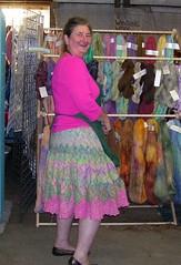 Pufpaff'a Fiber- Entralac skirt
