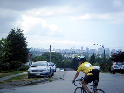 The Vancouver Skyline, as seen from Burnaby