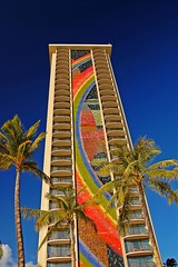 Hilton Rainbow Tower (jcc55883) Tags: hawaii hiltonhawaiianvillage rainbowtower oahuwaikiki