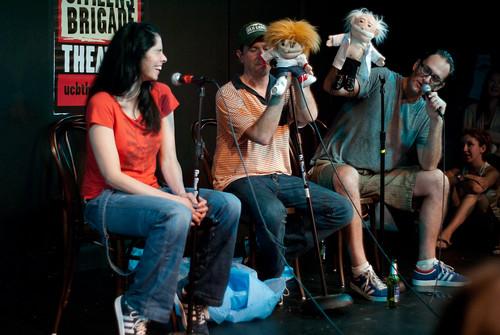 Seth & Eds Puppet Talk Show