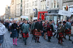 Clan Ramsay in The Clan Parade - The Gathering