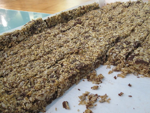 granola bar from the bistro - included in lunch
