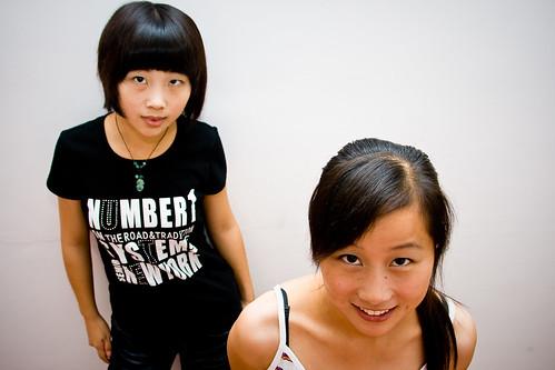 Beryl & Angelina - $th Aug '09
