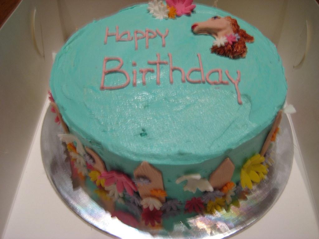 Cake Decorating Timeline Buttercream : The World s newest photos of birthdaycake and horsecake ...
