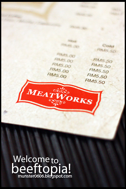 MeatWorks - Menu.