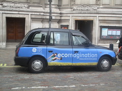 Typical London black cab