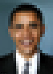 Barack Obama - Pixel Portrait (Ben Heine) Tags: usa colors smart experimental pixelized unitedstates zoom squares geometry quality president politics whitehouse deception shapes blurred intelligence illusion worldwide simplicity difference irony math statement caricature change leader salvadordali distance simple pixels opticalillusion challenge expectations clever socialsecurity carr task digitalmanipulation diplomacy popularity highres barackobama politicalart espoir medicaid changement salvatordali benheine pixelis usadministration attentes pixelportrait obamacare hopesyeswecan usleader scutitsociale