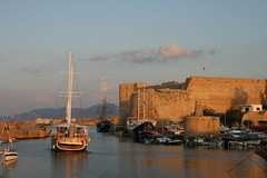 Dusk At Kyrenia Harbour