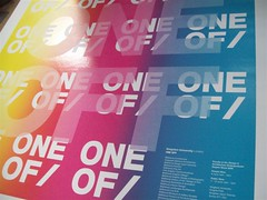 ONE OFF | Kingston University (bobeightpop) Tags: screenprint university kingston