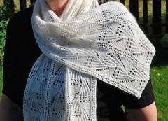 Fernfrost scarf (LivM) Tags: scarf cashmere fernfrost annehanson