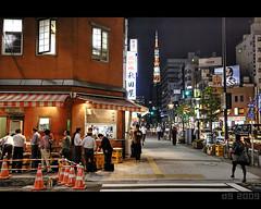 Japanese Pub (The Devil in the Detail) Tags: street detail japan night photoshop canon restaurant tokyo pub asia raw 1740mm hdr photomatix tonemapped enhancer 5dmarkii