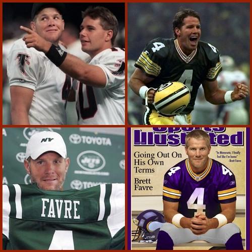 The Many Faces of Brett Favre