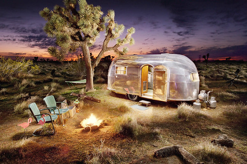 Airstream Trailer: Home on the Range