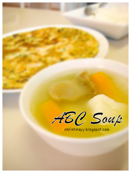 Home-Cooking: ABC Soup