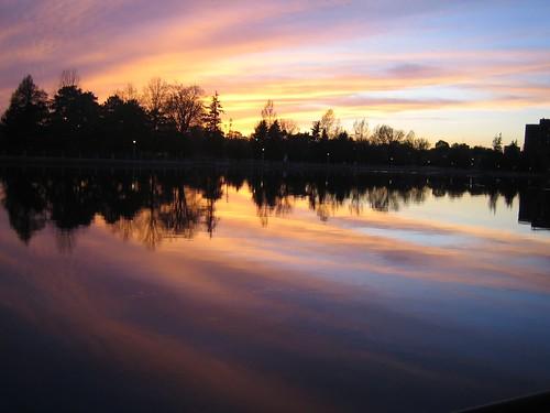 Sunset Ottawa Rideau Canal