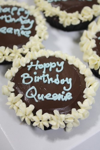 Happy Birthday Queenie by The Cupcake Emporium