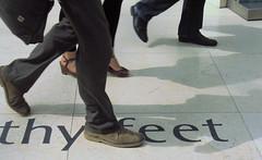 Thy feet walking (shaggy359) Tags: london feet freeassociation museum walking word foot shoe words shoes shadows floor quote pavement walk british britishmuseum greatcourt suede thy tennyson