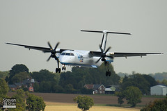 G-ECOF - 4216 - FlyBe - De Havilland Canada DHC-8-402Q Dash 8 - Luton - 100921 - Steven Gray - IMG_9765