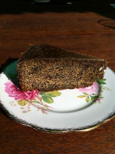 Coffee & Poppyseed Cake
