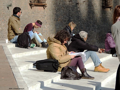 each with his thoughts (Paolo Bonassin) Tags: street people italy portraits faces candid streetphotography streetportrait persone bologna unposed ritratti streetpeople emiliaromagna volti candidstreet paolobonassin