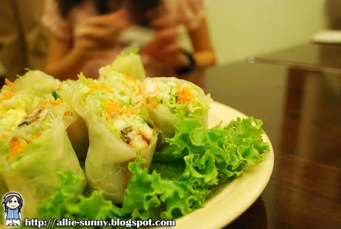 Vietnamese Vege Rolls