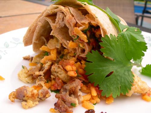 Sausage & Egg Breakfast Burrito