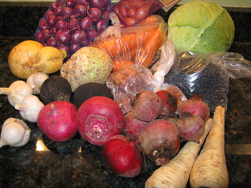 What's in CSA box #18