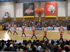 Osaka Evessa Cheerleaders - Kadoma, Osaka, Japan (glazaro) Tags: city basketball japan japanese asia stadium arena dome  osaka sendai kansai kadoma namihaya bjleague evessa 89ers