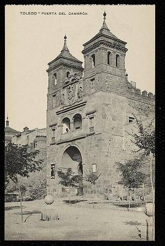 Puerta del Cambrón. Foto Gómez Menor hacia 1910