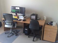 Front Profile of desk setup