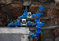 Post-Victorian water mains by Lars Plougmann on Flickr