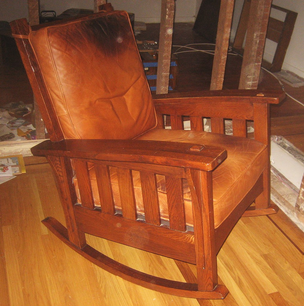 Stickley Bros. reproduction rocker