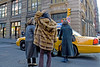 23/365 (allicette) Tags: street nyc ladies urban hail yellow lady corner fur lunch women manhattan cab taxi coat soho rich bap purse photoaday 365 wealthy posh coats affluence pictureaday affluent hailing 23365 365project 2009yip 012309 allicette allicettetorres yip2009